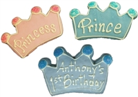 Hand Dec. Cookies - Crown or Tiara