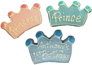 decorated Cookies Crown or Tiara