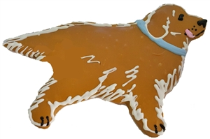 Hand Dec. Cookies - Dog