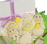 Assorted Easter Cookie Gift Box