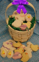 Easter Cookie Gift Basket