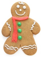 Hand Dec. Cookies - Gingerbread Men