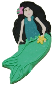 Hand Dec. Cookies - Mermaid