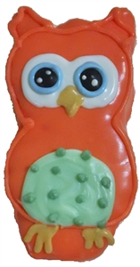 Hand Dec. Cookies - Owl