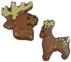 Hand Dec. Cookies - Reindeer