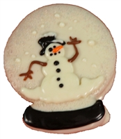 Hand Dec. Cookies - Snow Globe