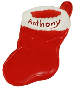 Hand Dec. Cookies - Personalized Stocking