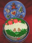 "6"" Holiday Cake in Gift Tin"