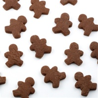 Mini Gingerbread Men Cookies, per dozen