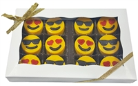 Mini Oreo® Cookies - Emojis, Gift box of 12