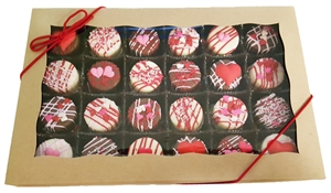 Mini Oreo® Cookies - Valentine's Designs, Gift box of 24