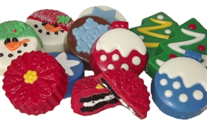 Chocolate Covered Oreo® Cookies, Holiday Assortment