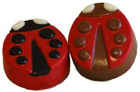 Chocolate Covered Oreo® Cookies, Lady Bug