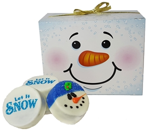 Oreo® Cookies - Snowman Gift Box of 12