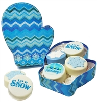 Oreo Cookies Small Winter Theme Gift Box