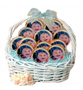 Photo/Logo Cookie Bouquet, 12 cookies