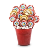 Personalized Happy Holidays Oreo Bouquet