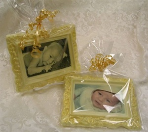 Large Photo Chocolate Frame