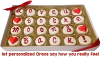 """Say-it-in-Cookies"", Mini Oreo® Cookie Gift Box of 25"