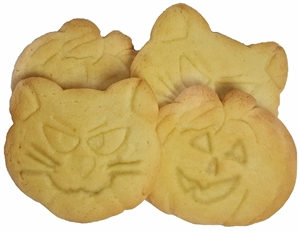 Sweet Impression Halloween Cookies, Set of 4