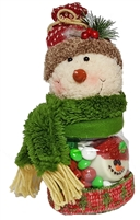 Snowman Sweet Treats Candy Jar
