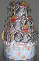 3 Tiered Child or Adult Birthday Centerpiece