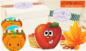 Autumn Harvest Cookie Gift Box