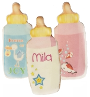 Printed Cookies - Baby Bottle