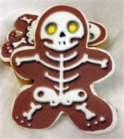 Printed Cookies - Skeleton