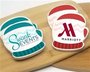 Direct Print Logo Cookies - Winter Theme