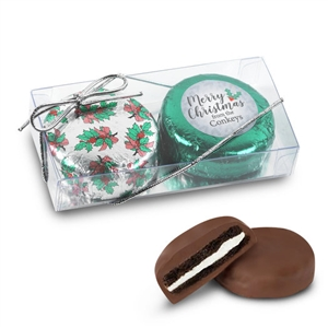 Personalized Merry Christmas Foiled Oreos - 2 pk