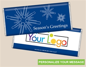 Personalized Logo Candy Bar - Snowflake Supply