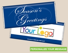 Personalized Logo Candy Bar - Simple Greeting