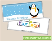 Personalized Logo Candy Bar - Arctic Friend