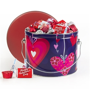 Valentine's Day Hearthstrings Candy Tin, 3.5 lb Mix