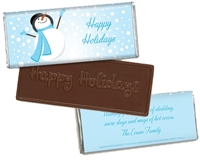 Personalized Holiday Candy Bar - Catching Snowflakes