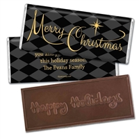 Personalized Holiday Candy Bar - A Magical Holiday