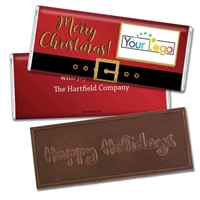 Personalized Logo Candy Bar - Merry Christmas