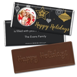 Personalized Holiday Candy Bar - Once Upon a Holiday