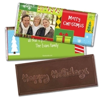 Personalized Holiday Candy Bar - Wonderful Time of The Year