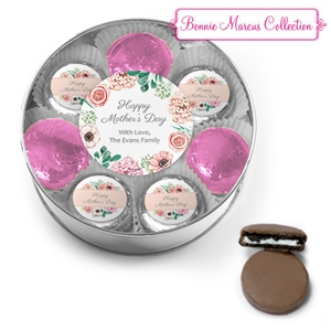 Personalized Mother's Day Belgian Chocolate Covered Oreo Cookies Gift Box of 16