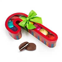 Candy Cane Foiled Oreo Gift Box of 8