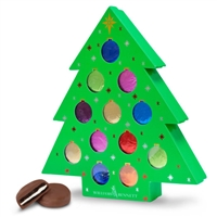 Christmas Tree Foiled Oreo Gift Box of 12