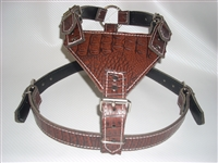 BROWN GATOR HARNESS