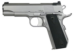 Dan Wesson 1911 VBOB: Forged Stainless Bobtail .45ACP 01982