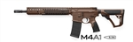 "Daniel Defense M4A1 Brown 14.5"" Standard Barrel w/ Pinned Flash Hider 5.56 02-088-15126-011"