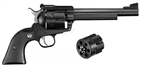 "Ruger Blackhawk Convertible 357MAG / 38SPL / 9mm Blued 6-1/2"" 0318"