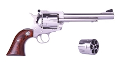 "Ruger Blackhawk Convertible 6.5"" Stainless .40S&W + 10MM 0474"