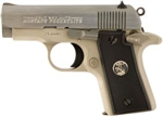"Colt Mustang Pocketlite Stainless+Nickel 2.75"" .380ACP 06891"