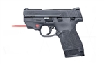 Smith & Wesson M&P Shield 9mm 2.0 Thumb Safety w/ Crimson Trace Laser 11671